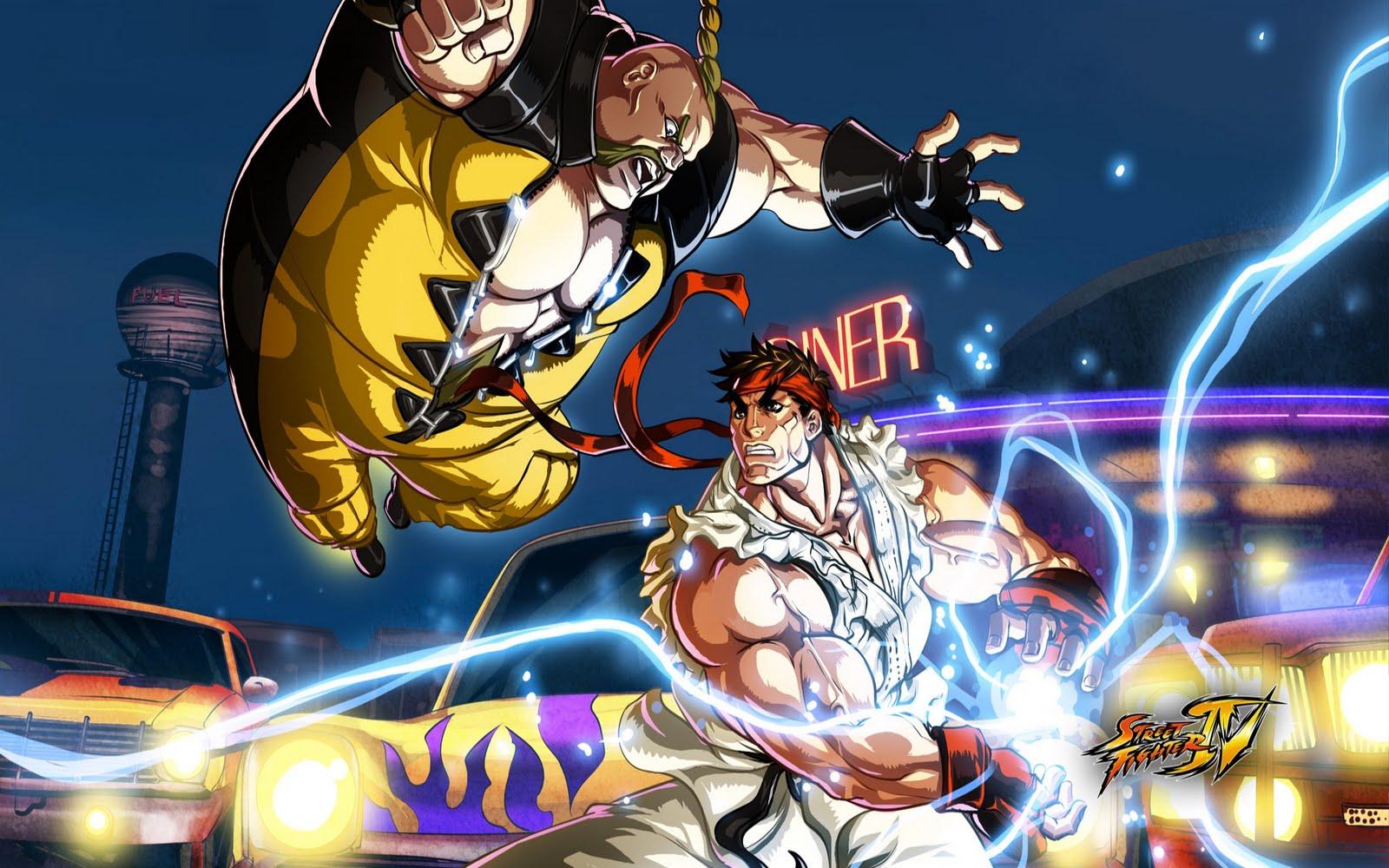 Street Fighter 5 Wallpaper: Street Fighter IV Wallpapers