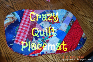http://joysjotsshots.blogspot.com/2013/12/crazy-quilt-placemat-thanksgiving-day.html
