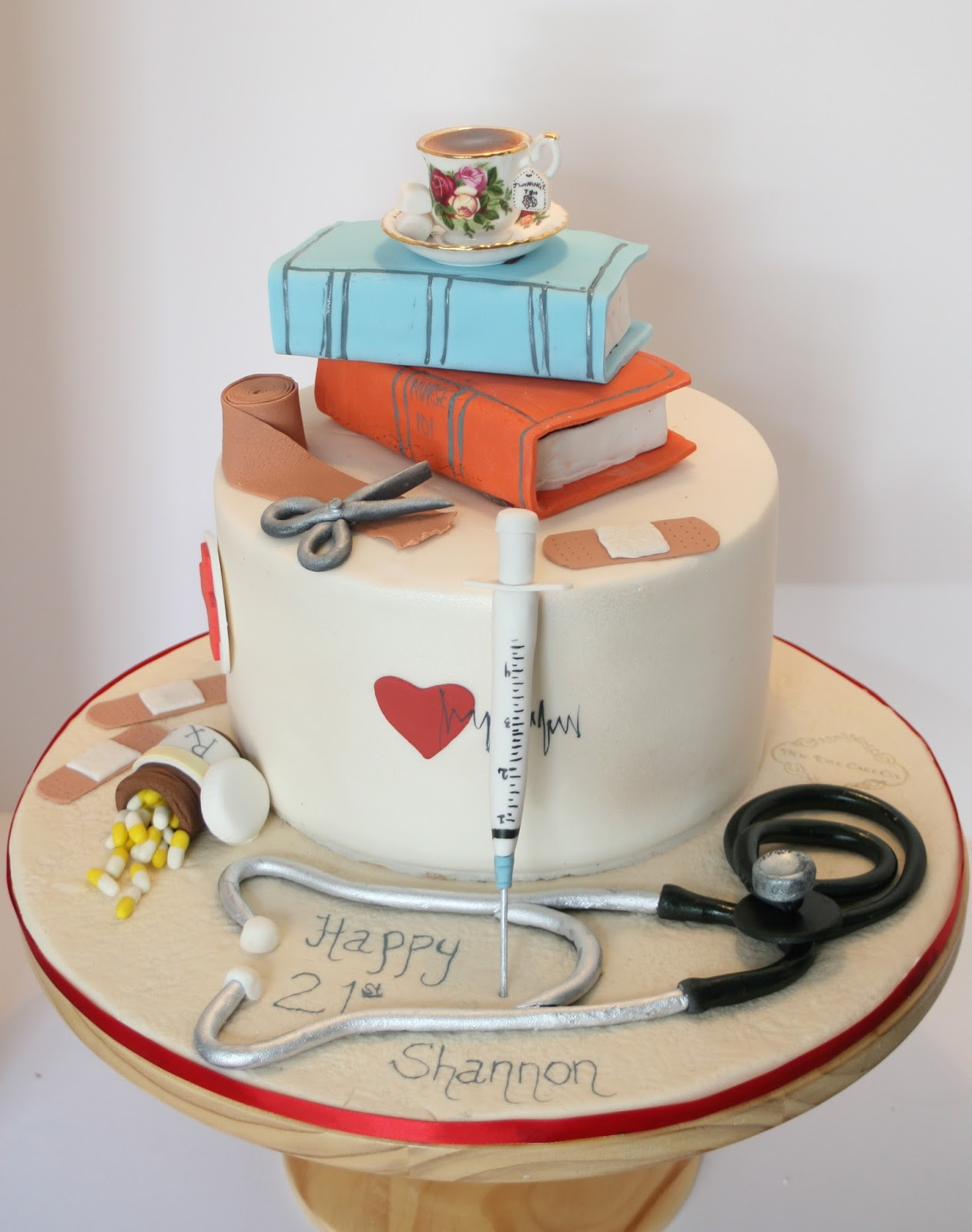 Welcome To Health Then More Cute Medical Cake Designs