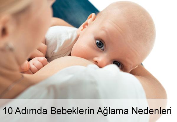 Bebeklerin Ağlama Nedenleri Nelerdir?