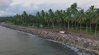 Baluk Rening Beach Jembrana With the Black Sand