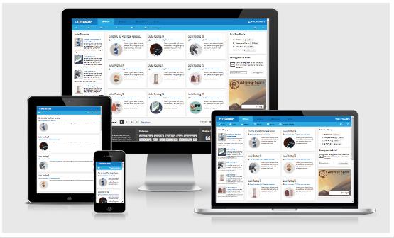 Template HTML5 Pertamax Blue