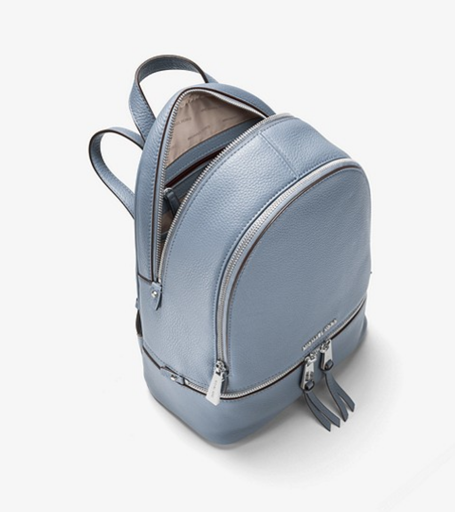 84b36bf54b3a0b MICHAEL MICHAEL KORS Rhea Medium Leather Backpack. is another great backpack  that is on semi annual sale now. I am considering if to buy it or not.
