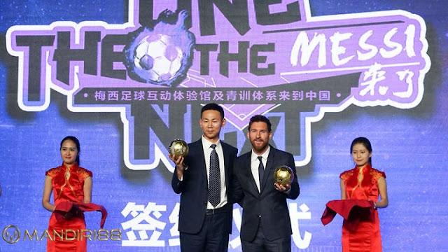 Taman Hiburan Bertema Lionel Messi Hadir Di Tiongkok