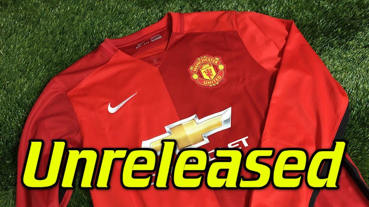 timeless design 450b9 d9fb5 Unreleased Nike Manchester United 15-16 Kit Revealed - Footy ...
