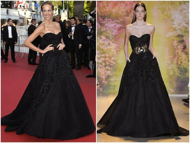 Petra Nemcova in Zuhair Murad Couture – 'Two Days, One Night' ('Deux Jours, Une Nuit') Cannes Film Festival Premiere
