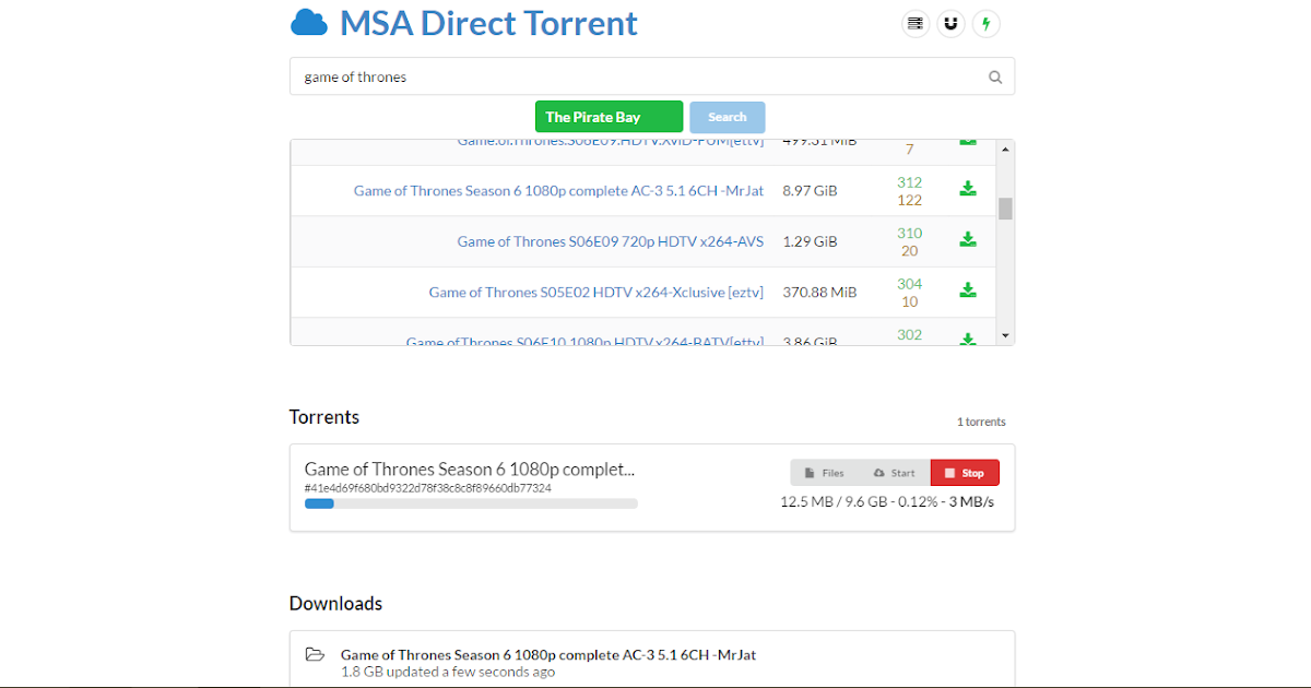 Convert Direct Download Links Into Torrents For Easier Downloading