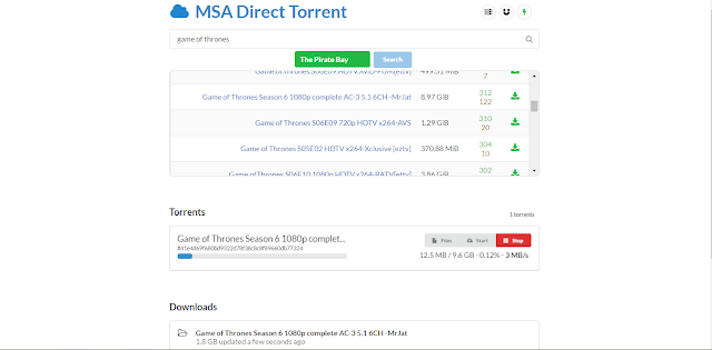 Torrent To Direct Link Conversion Free Unlimited Size.