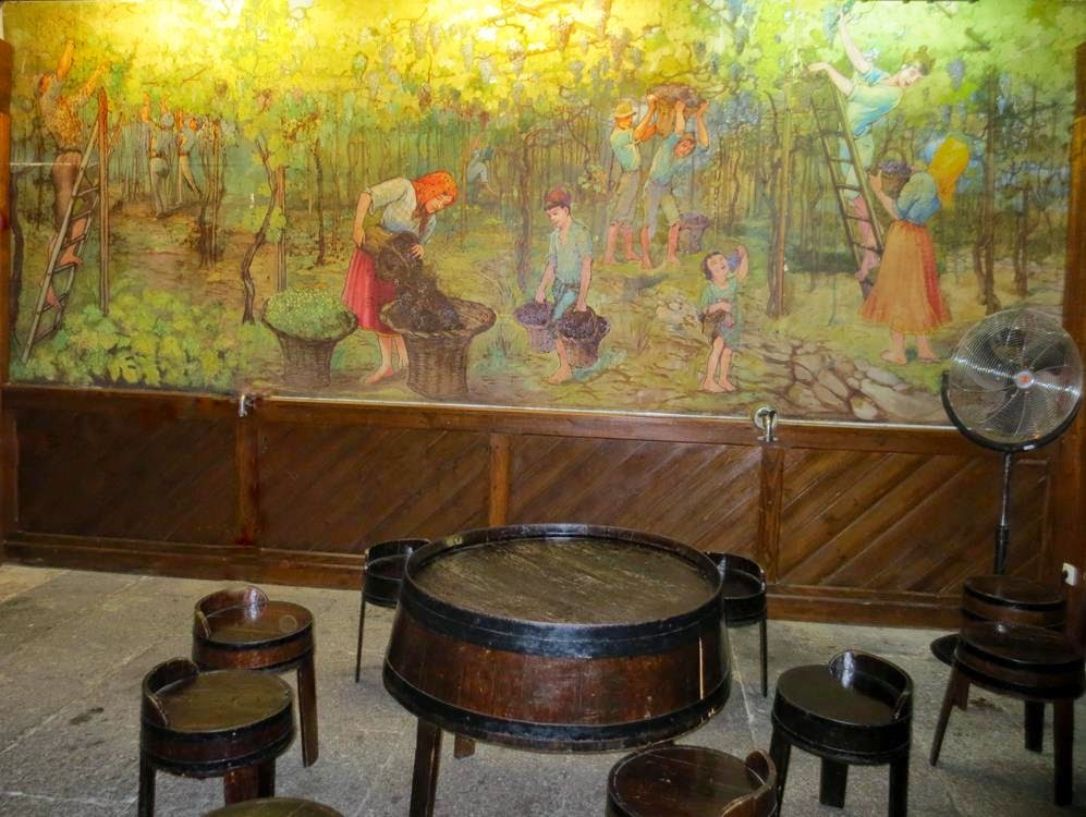 Blandy´s Wine Lodge painting