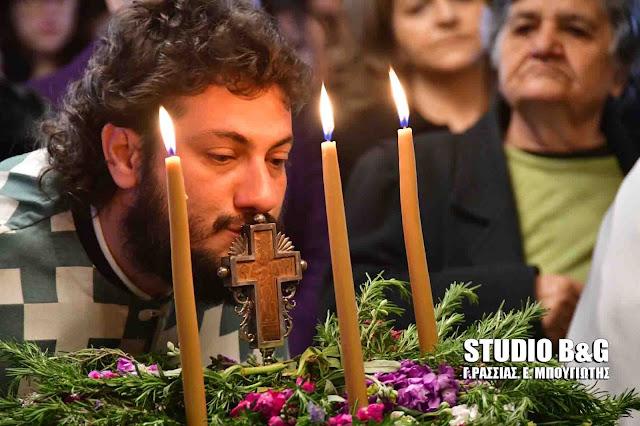 Με πανέμορφα άνθη και αρώματα η εορτή της Σταυροπροσκυνήσεως στο Ναύπλιο
