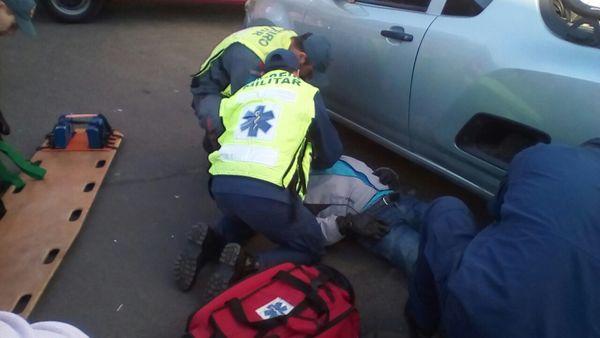 Acidente em Canoinhas envolve motociclista de Jaraguá do Sul