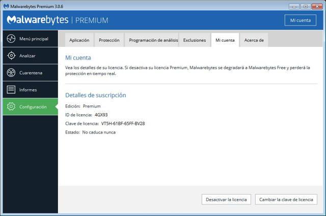 Malwarebytes Anti-Malware Premium Español
