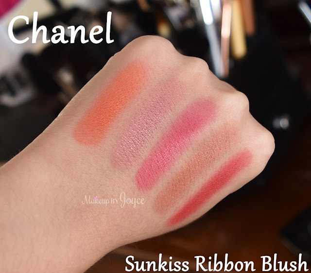 Chanel Sunkiss Ribbon Harmony Blush Individual Swatch