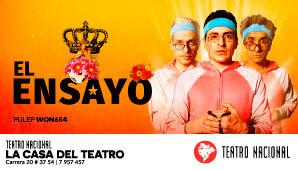 EL ENSAYO en la Casa del Teatro Nacional