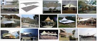 harga tenda membrane per meter jakarta