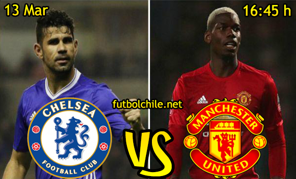 Ver stream hd youtube facebook movil android ios iphone table ipad windows mac linux resultado en vivo, online: Chelsea vs Manchester United
