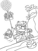 Dibujos Animados Para Colorear Up Una Aventura De Altura Colorear