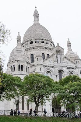 Sacre Coeur Bazalikası, Paris turumuz