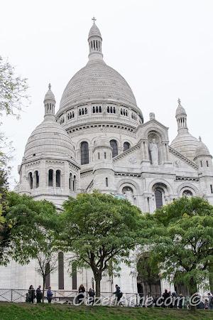 Bembeyaz Sacre Coeur bazalikası, Paris
