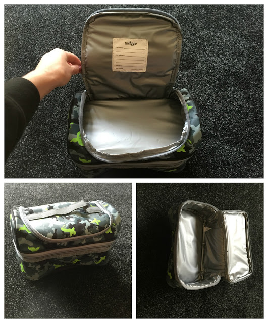 Smiggle Camo Double Decker Lunch Box