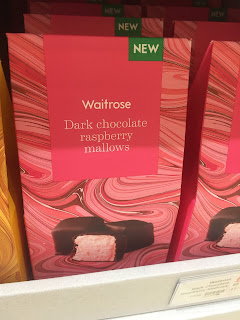waitrose Dark Chocolate Raspberry Mallows