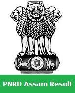 PNRD Assam Result