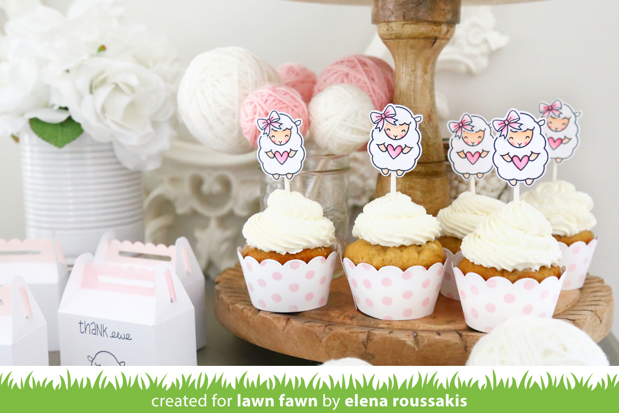 The lawn fawn blog: little lamb baby shower with elena