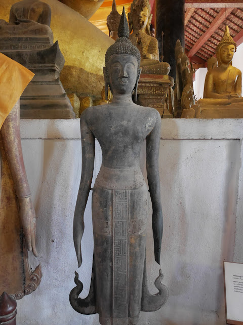 an example of the Luang Prabang-style standing Buddha image
