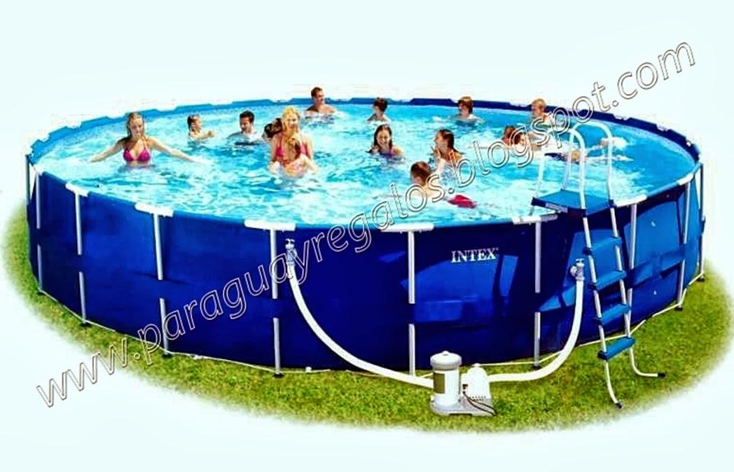 Piscinas on line - Fotos de piscinas intex ...
