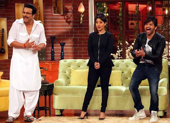 Himesh Reshmiya, farah Karimi, Comedy Nights, Comedy Nights with Kapil, Kapil Show
