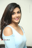 Anisha Ambrose Latest Pos Skirt at Fashion Designer Son of Ladies Tailor Movie Interview .COM 0671.JPG