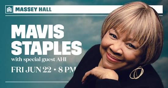 Mavis Staples @ Massey Hall, June 22