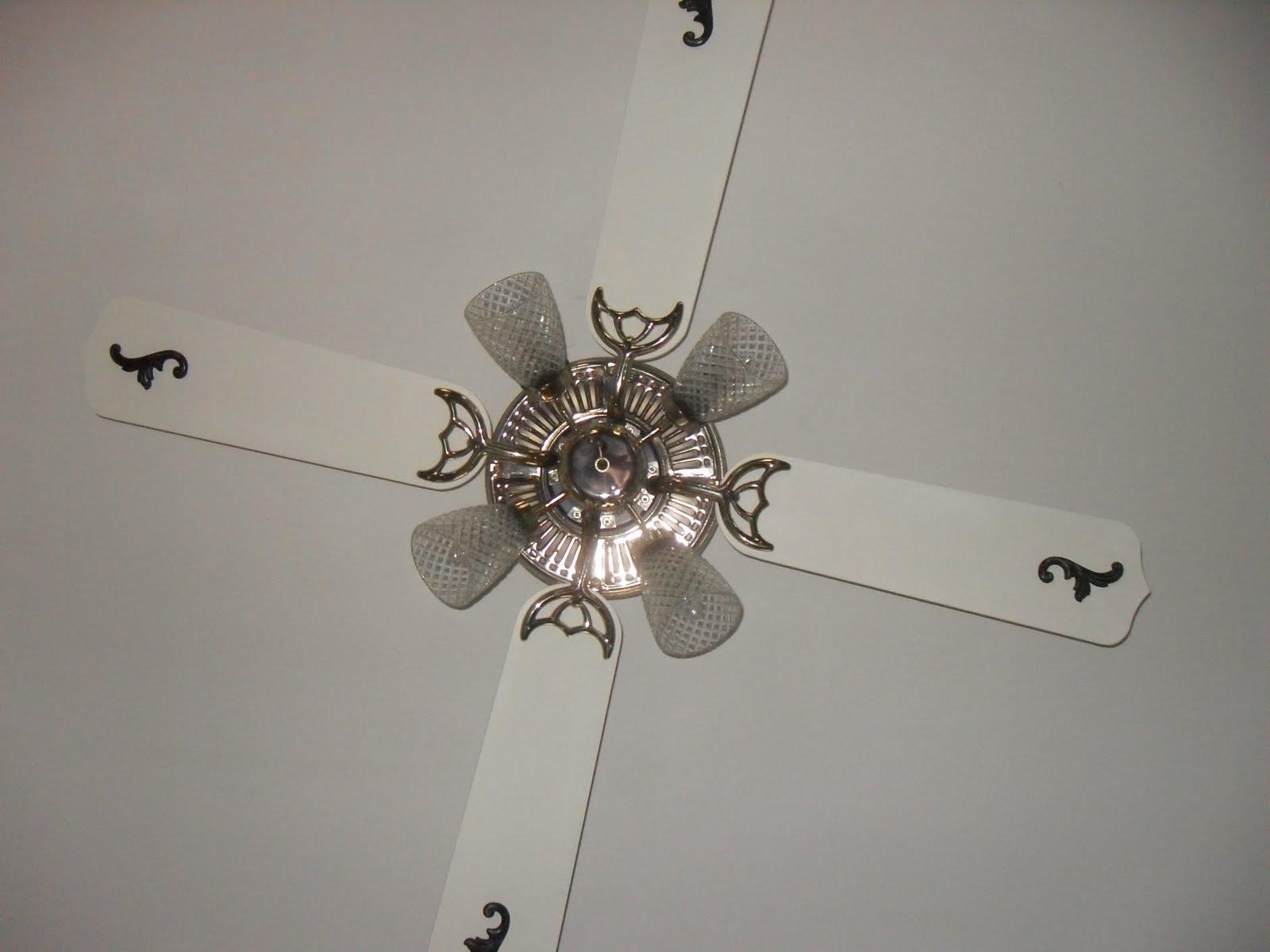 """Wonderfully Made"": Ceiling Fan Update"