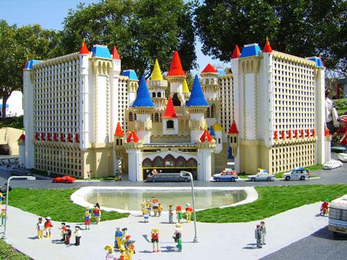 Parque Legoland Florida Orlando - Miniland USA