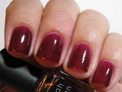 Deborah Lippmann bad blood swatch