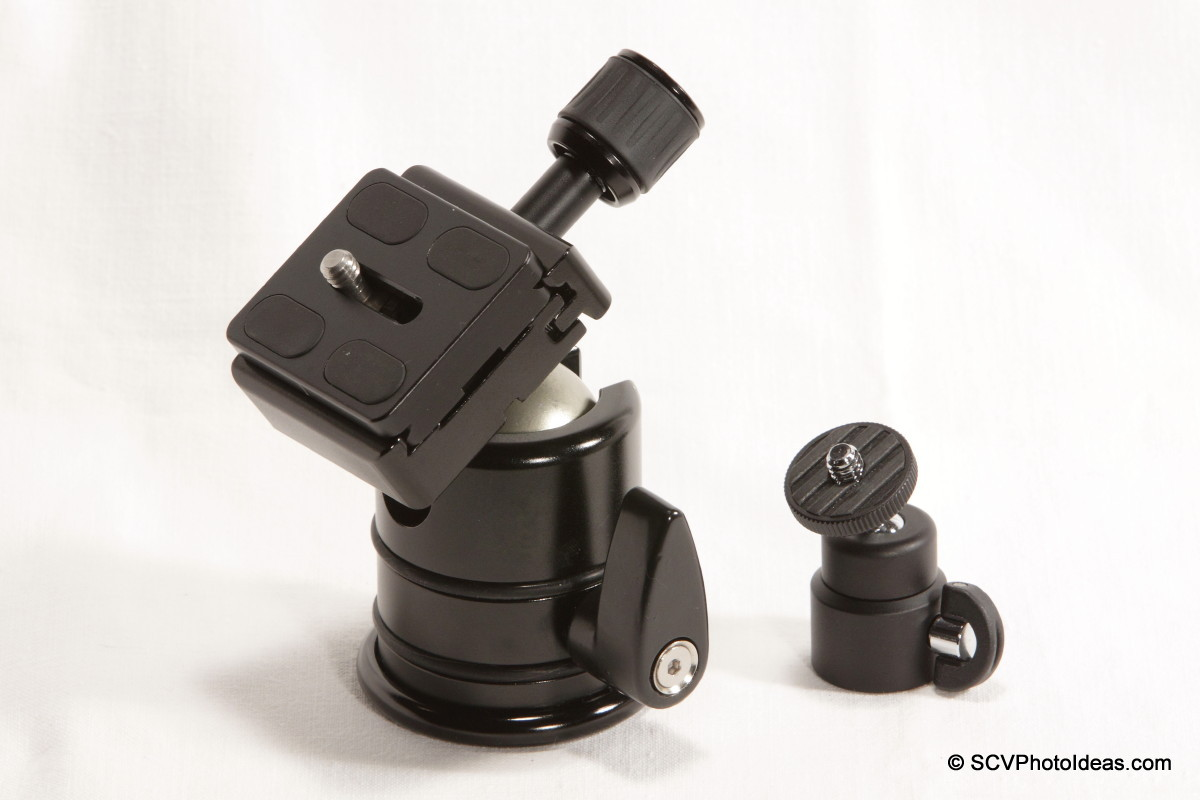 Triopo RS-3 v/s Fotomate V-Pod-S ball head comparison