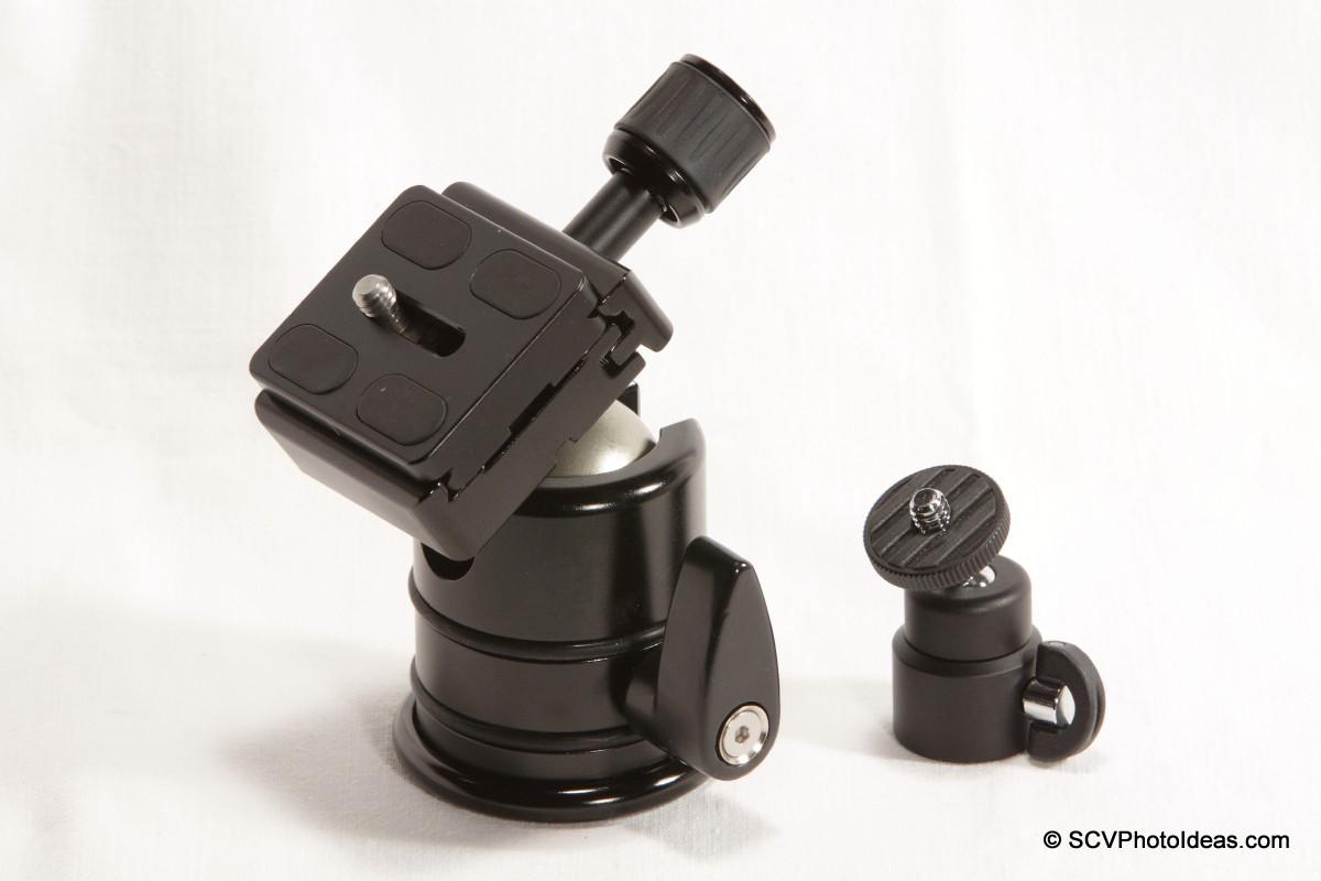 Triopo RS-3 v/s Fotomate V-Pod-S ball head comparison