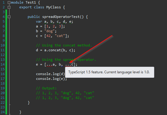 Allen Conway's Blog: Which Version of TypeScript is