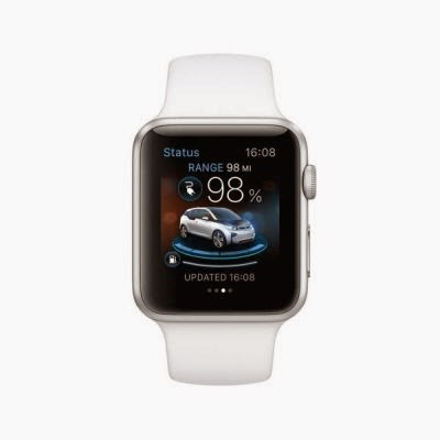Apple Watch controleaza functiile modelelor BMW i