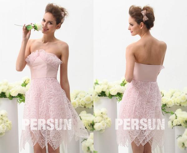 67d4d1254a4550 Top tendance 2016-robe de soirée nouvellement en rose | Espace Robes ...