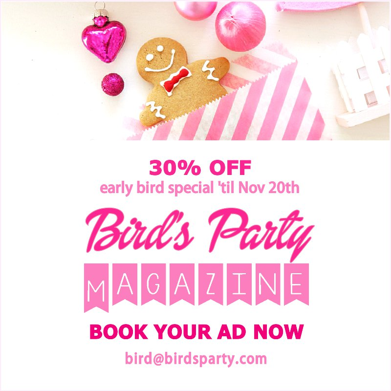 Our Winter Magazine - be part of an amazing team of creative influencers and party professionals to get your blog or business in front of thousands! at Blog.BirdsParty.com @birdsparty #partyideas #magazine #partymagazine