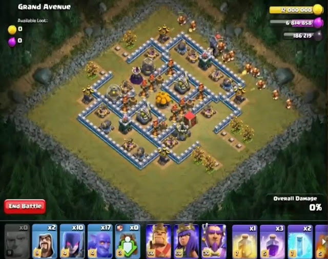 73. Grand Avenue Goblin Base COC