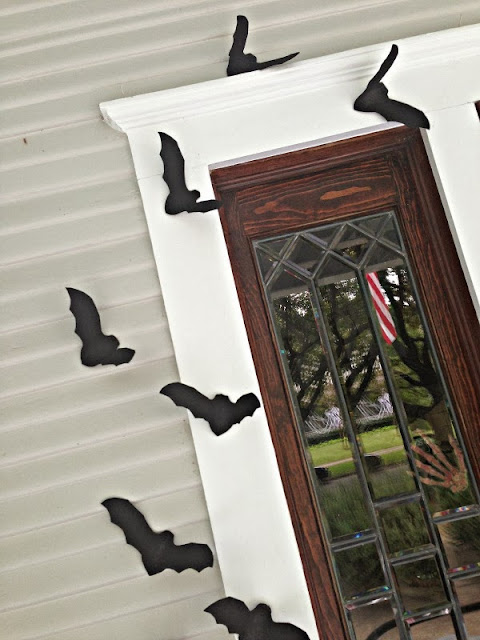 bat halloween craft project