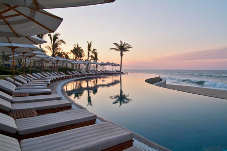 29 Most Amazing Infinity Pools in Pictures - Los Cabos, Mexico