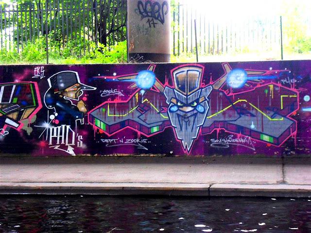 UFO Spaceship Style Graffiti