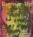 09/2017 Runner up at Rhedd's Creative Spirit