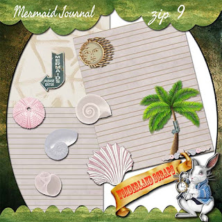 More Mermaid Journal freebie