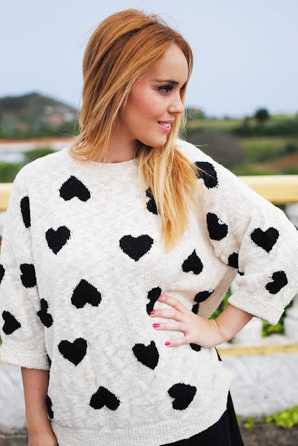 print hearts, nery hdez, skirt,