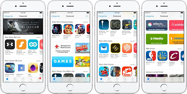 App-Store-Feaetured-tab-teaser-001 How to install an older version of your iOS app through the App Store Apple