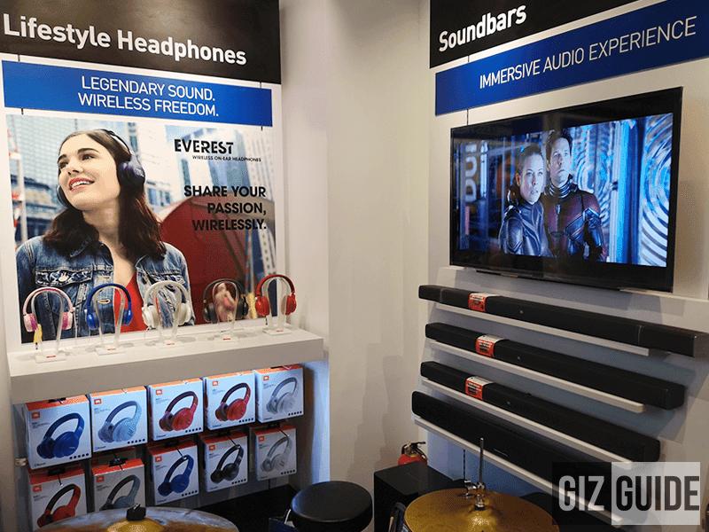 Headphones and soundbars